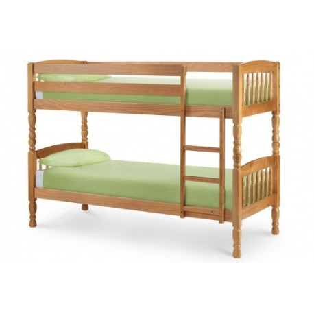 "Lincoln Bunk Bed 2ft 6"" (75cm) Full Length (190cm) - JN395"