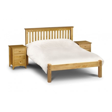 Barcelona Bed Low Foot End - Pine - JN492