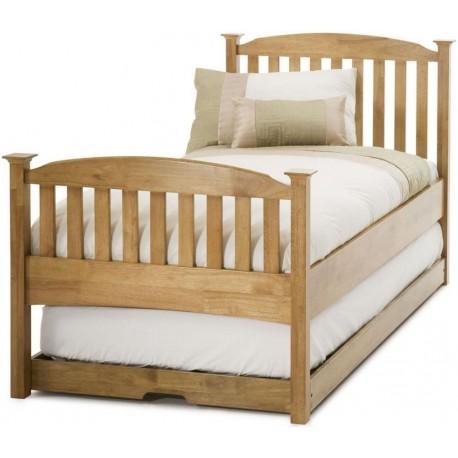 Eleanor Oak High Foot Guest Bed - SE343