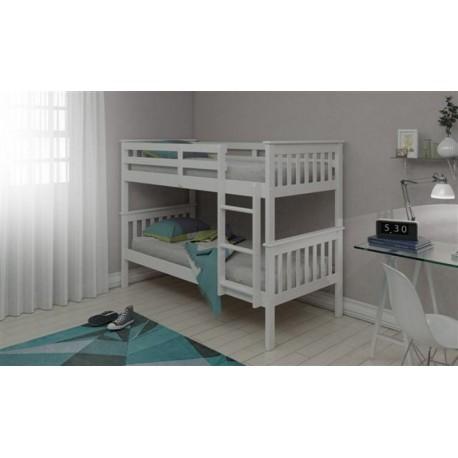 Novaro White Bunk Bed - CN428