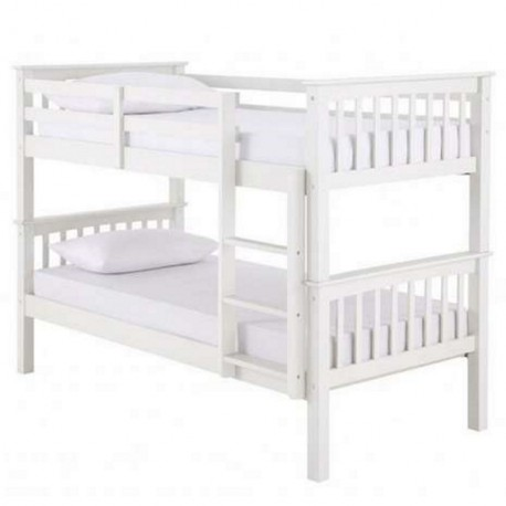 Navaro White Bunk Bed