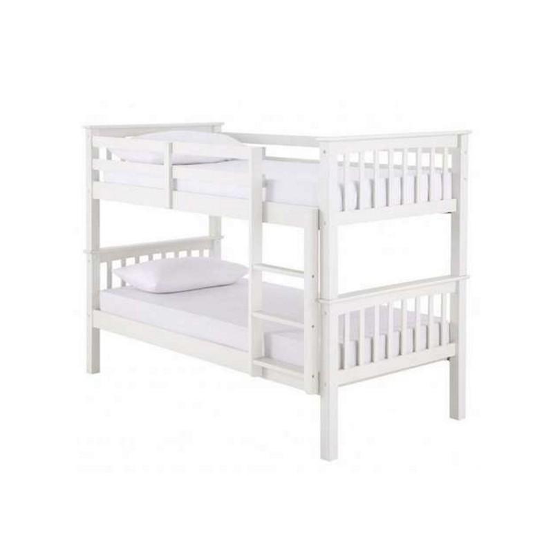Navaro White Bunk Bed