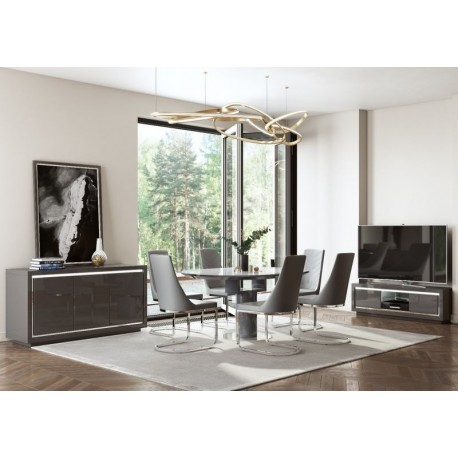 Romeo Round Extending Dining Table