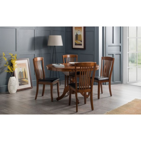 Canterbruy Round Extending Dining Table