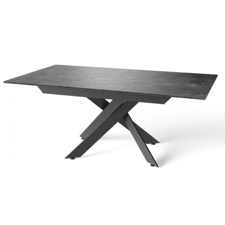 Mirage Ceramic Glazed Extending Dining Table