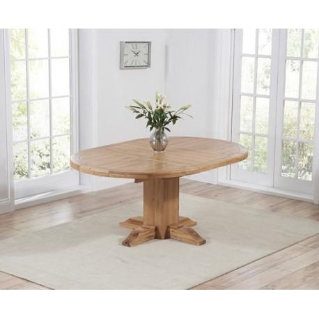 Turin Oak Extending Dining Table