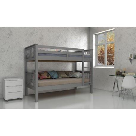 Novaro Grey Bunk Bed - CN429