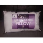 Egyptian Cotton Sateen Stripe Pillow Set