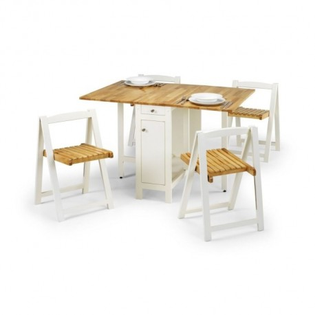 Folding Dining Table and Chair Set - JN493