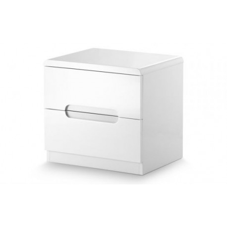 Manhattan 2 Drawer Bedside