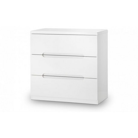 Manhattan 3 Drawer Bedside