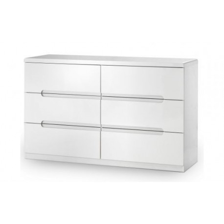 Manhattan 6 Drawer Wide Chest - JN646