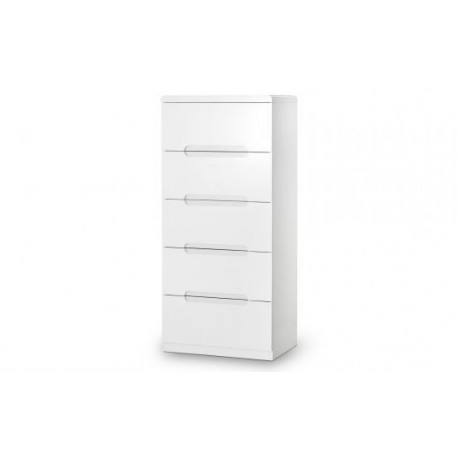 Manhattan 5 Drawer Narrow Chest - JN723