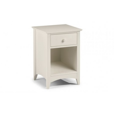 Cameo 1 Drawer Bedside - JN497