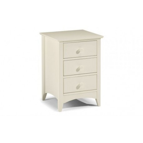 Cameo 3 Drawer Bedside - JN546