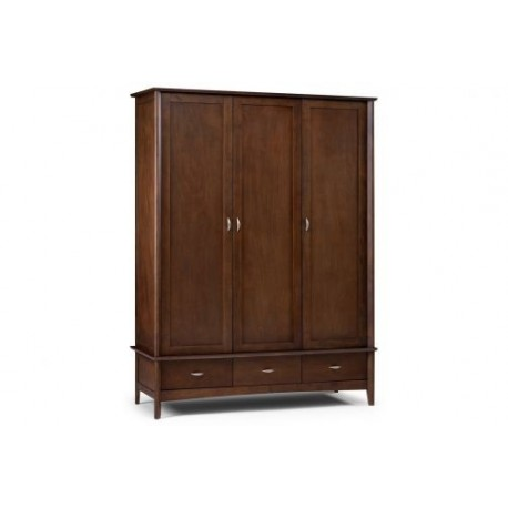 Minuet 3 Door Wardrobe With Fitted Interior