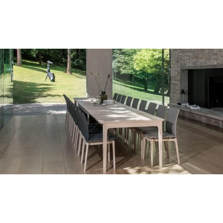 Skovby Extra Long Extending Dining Table