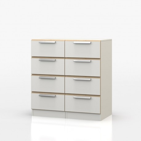 Waterfall 8 Drawer Narrow Chest - OL875