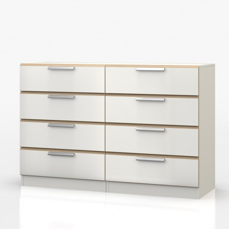 Waterfall 4 Drawer Double Chest - OL576