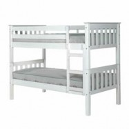 Barcelona White Bunk Bed